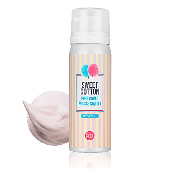 Sweet Cotton Pore Cover Mousse Starter