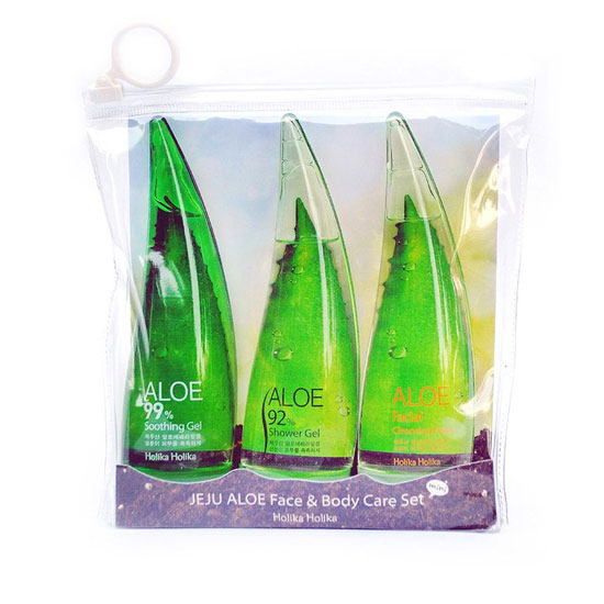 Jeju Aloe Face and Body Care Set