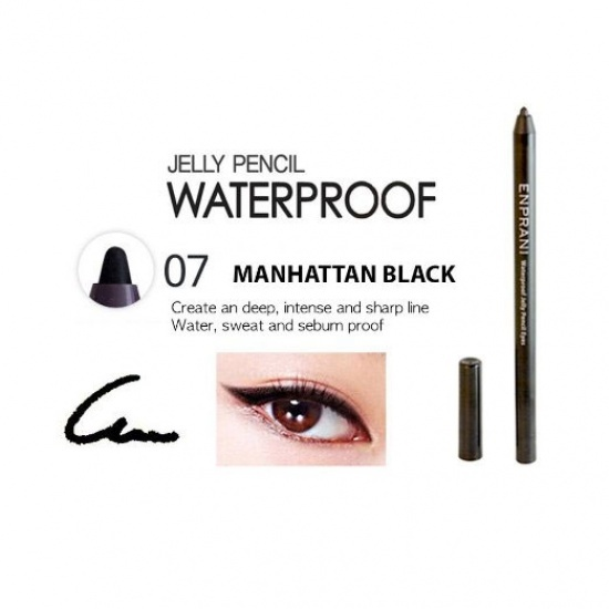 Water Proof Jelly Pencil Eyes Manhattan Black