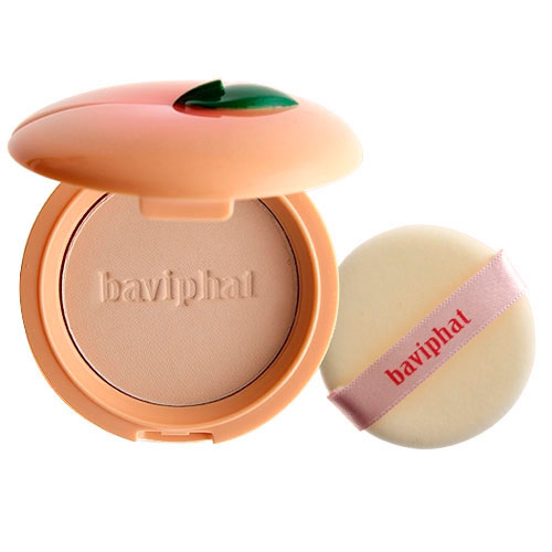 Baviphat Sugar girl Peach Sebum Solution Pact Nature Beige