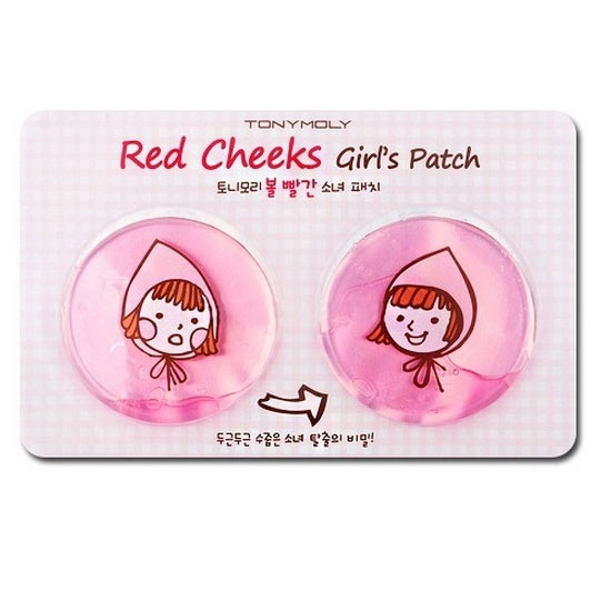 Red Cheeks Girl's Patch