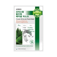Junico Crystal All-In-One Facial Mask Aloe