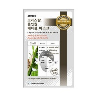 Junico Crystal All-In-One Facial Mask Snail