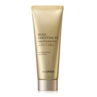 Snail Essential EX Wrinkle Solution Deep Cleansing Foam