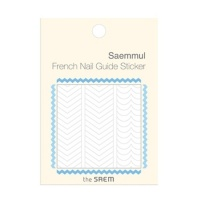 French Nail Guide Sticker