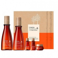 Chaga Anti-Wrinkle Skin Care 2 Set 160мл/140мл/2*20мл/8мл