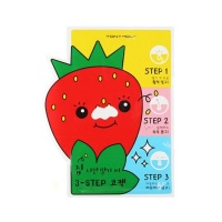 Homeless Strawberry Seeds 3-steps Nose Pack