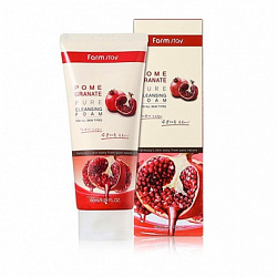 Пенка для умывания с экстрактом граната FarmStay Pomegranate Pure Cleansing Foam